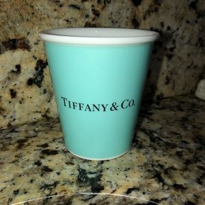 "Tiffany and Co ""paper cup"" bone china collection"